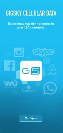 GigSky app - bestphoneplans.com